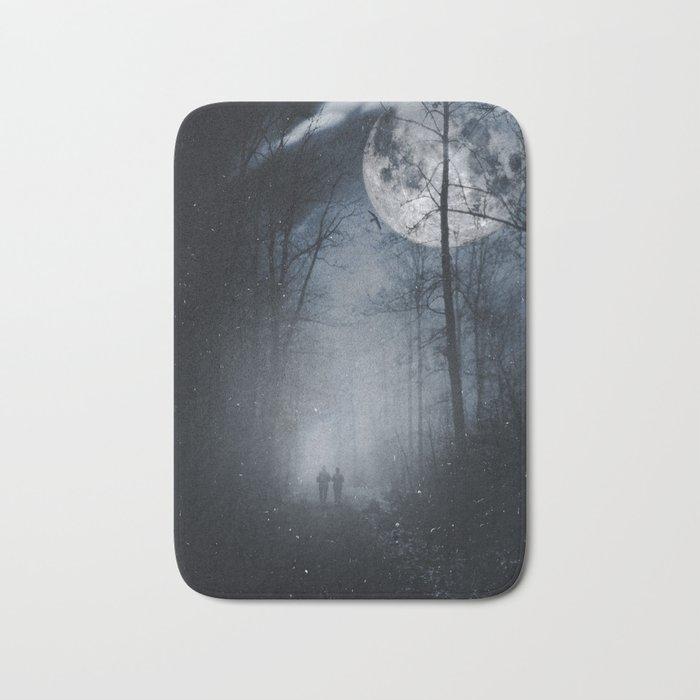 moon walkers Bath Mat