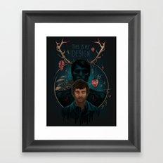 This Is My Design Framed Art Print