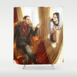 Elementary Shower Curtain