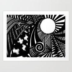 Vortex Art Print