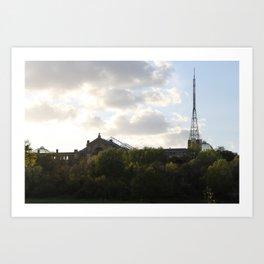 Alexandra palace. Art Print
