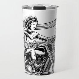 Motorcycle Indian shirt for men native american Travel Mug