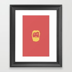The Beard Framed Art Print