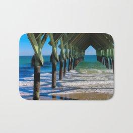 Wrightsville Beach Pier North Carolina Bath Mat