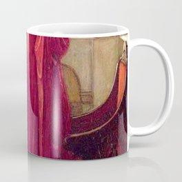 John William Waterhouse The Crystal Ball Coffee Mug