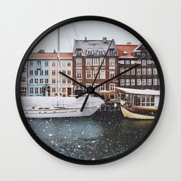 Copenhagen Wall Clock