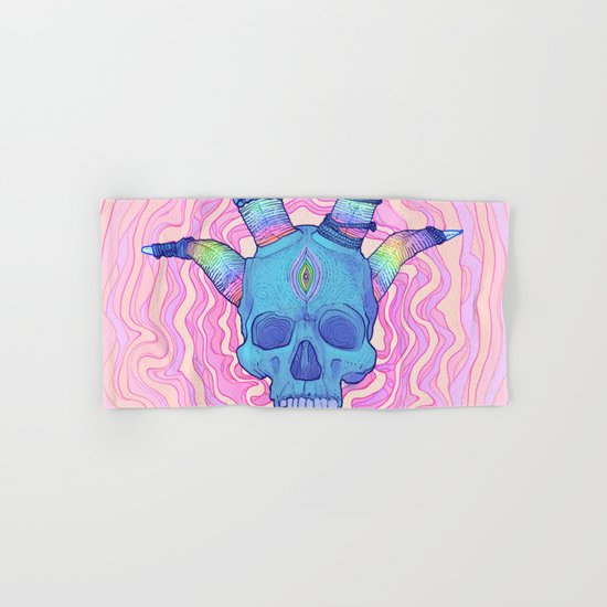Mana Skull 2 Hand & Bath Towel