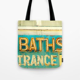Baths Tote Bag