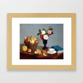 Henri Fantin-Latour Still Life Framed Art Print