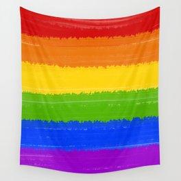 Rainbow Pride Flag Wall Tapestry