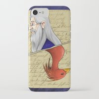 dumbledore iPhone & iPod Cases featuring Albus Dumbledore by Imaginative Ink