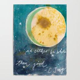 Jungian Moon Poster