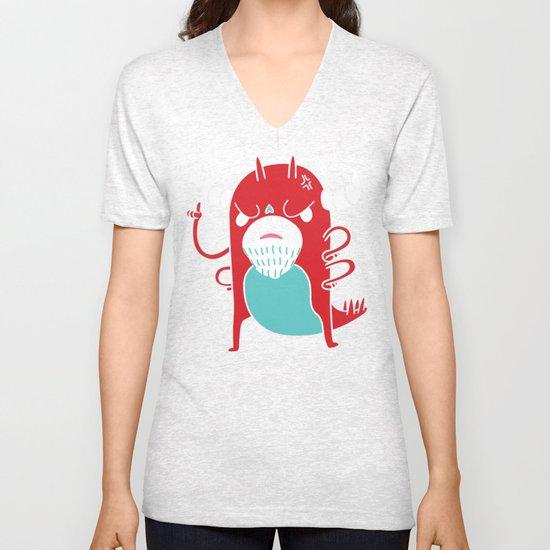 Monster Nagging Unisex V-Neck