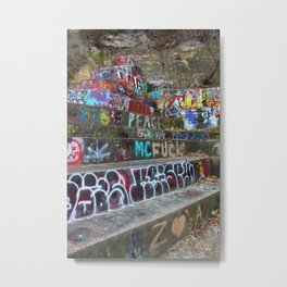 Graffiti in the wild Metal Print