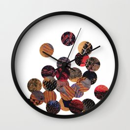 Rising Steam Wall Clock