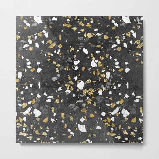 Glitter and Grit 2 Metal Print