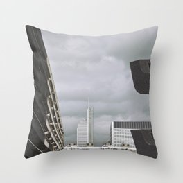 with the sun on my back, it's a nice day... Throw Pillow