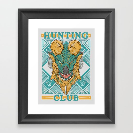 Hunting Club: Jinouga Framed Art Print
