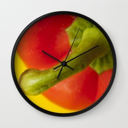 Peppered 3 Wall Clock