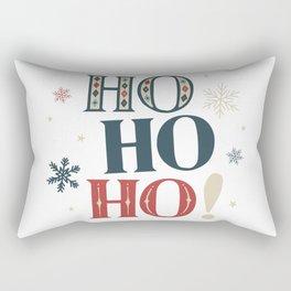Ho Ho Ho! Christmas Rectangular Pillow