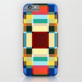Sirin - Colorful Decorative Abstract Art Pattern iPhone Case