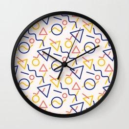 Oh man, I hope you like shapes Wall Clock