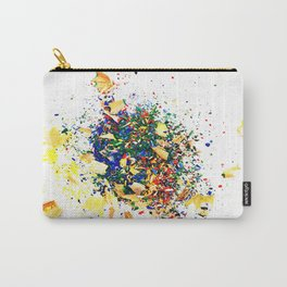 Colorful waste 1 Carry-All Pouch