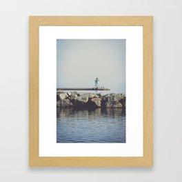 The Lighthouse 3 Framed Art Print