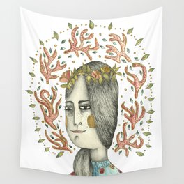 Juggling the Self Wall Tapestry