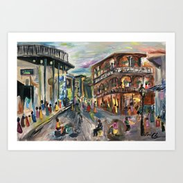 Fifty Cent Oysters Art Print