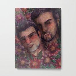 guys in love Metal Print