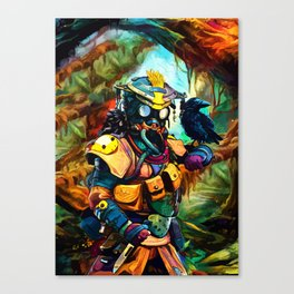 Colorful Tracker Canvas Print