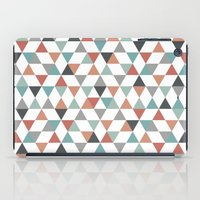 hexagon iPad Cases featuring Hexagon by Pavel Saksin