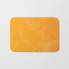Pikes Peak Topography Bath Mat