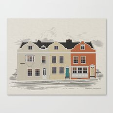 Lombard St. Portsmouth Canvas Print