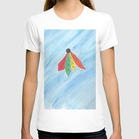 blackhawks T-shirts featuring Feathers by Smash Art