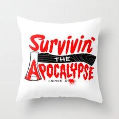 Survivin' Throw Pillow