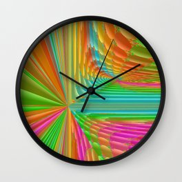 Abstract 359 a dynamic fractal Wall Clock