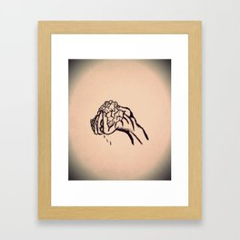 Hand in Glove Framed Art Print