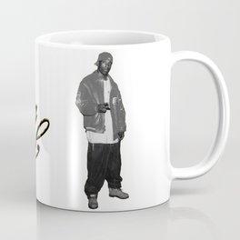 Big L //Black&White Coffee Mug