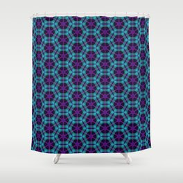 Neon Flux 05 Shower Curtain