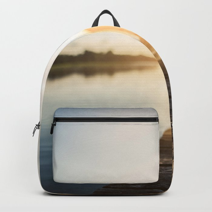 Sitting on the Dock of the Bay Backpack