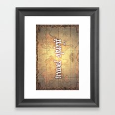 Travel Spirit #3 Framed Art Print