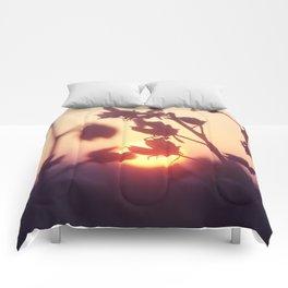 Garden Sunset Comforters