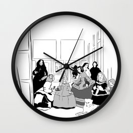 Las Meninas Wall Clock