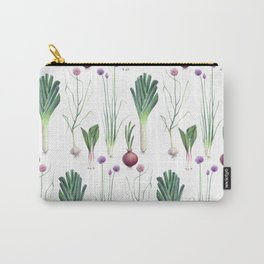 Edible Alliums Carry-All Pouch