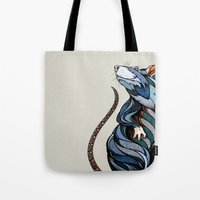 rat Tote Bags featuring Berlin Rat by Andreas Preis