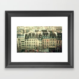 Paris - the Marais Framed Art Print