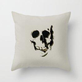 skull #06 Throw Pillow