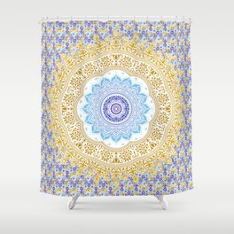 Multi tapestry Shower Curtain